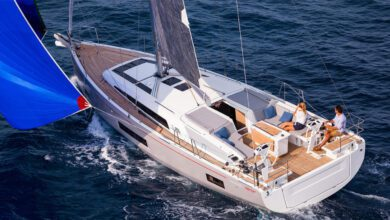 Photo of On board The First Line Version of the Beneteau Oceanis 46.1