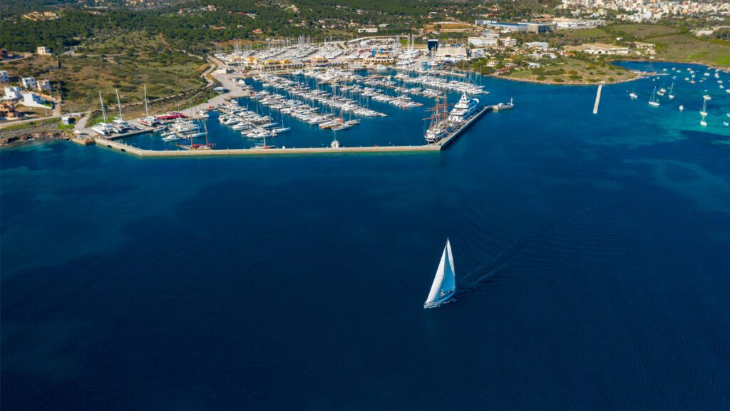 olympic yacht show sailing in Greece