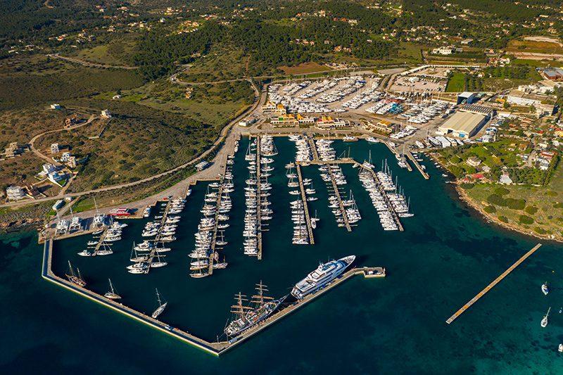 olympic yacht show marina sounio
