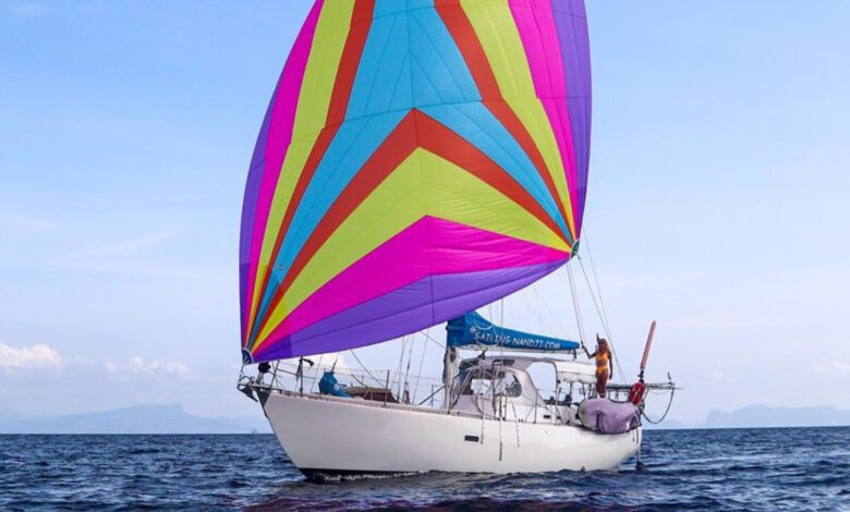 Photo of Sailing Nandji Ep 173 – It Looks Like a Unicorn Farted: our New Spinnaker!