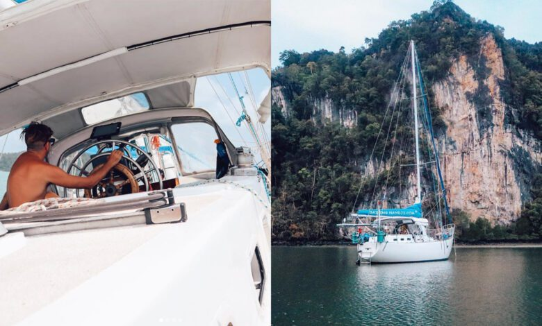 Photo of Sailing Nandji Ep 175 – HAUNTED by our first Offshore Sail…
