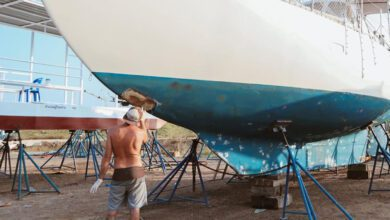 sailing nandji boat maintenance