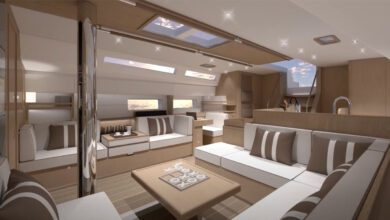 Photo of The Interior Layout of the New Swan 58 Unveiled. VIDEO