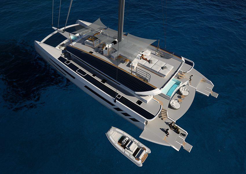Marc Pajot catamaran