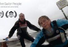 Photo of Julie, James and Their Movie Dedicated to 'Sailor People'