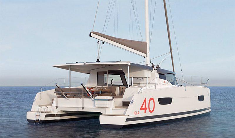 Fountaine Pajot isla 40 catamaran