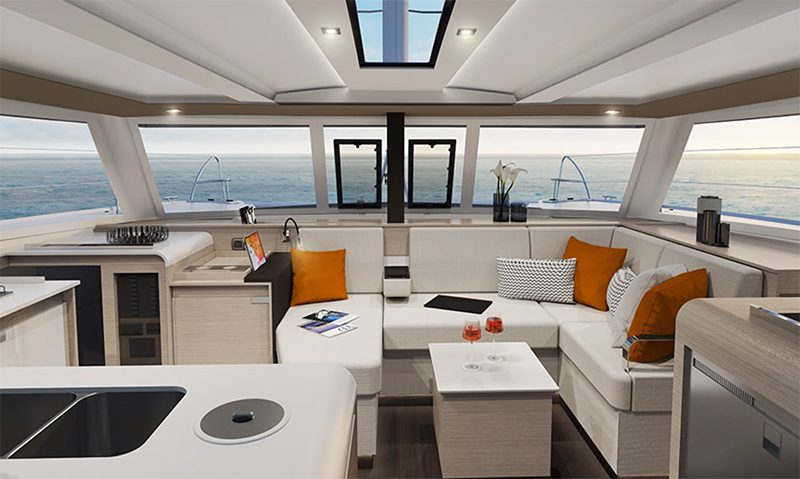 Fountaine Pajot isla 40 catamaran