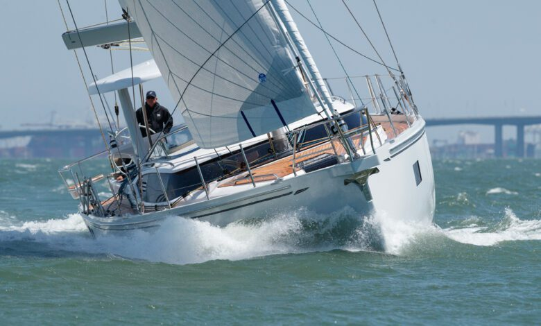 Hylas h57 new sailboat