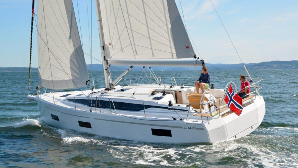 Bavaria c42 sailboat