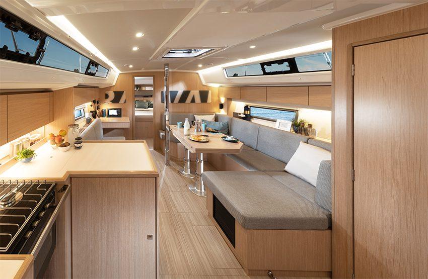 Bavaria c42 interiors sailboat