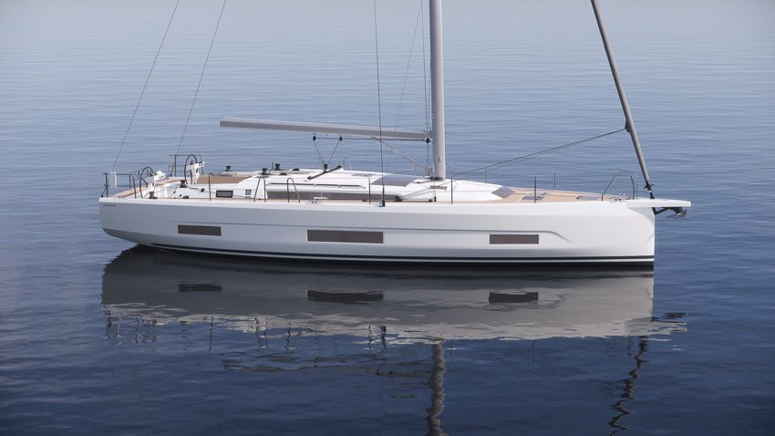 Dufour 470 sailboat