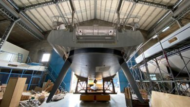 Photo of Hylas Yachts at Full Throttle in the Construction of Four New Boats