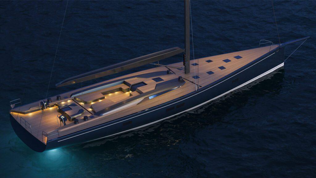 reichel Pugh nauta 100 sailing yacht