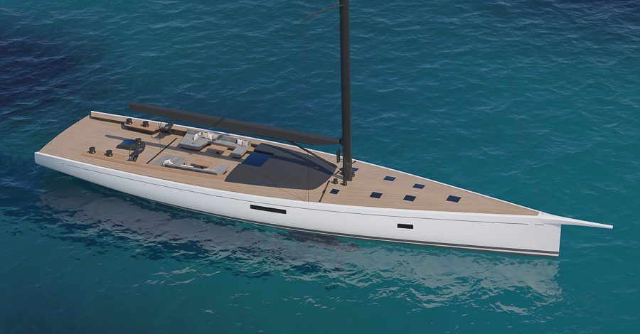 sws105 sailing yacht