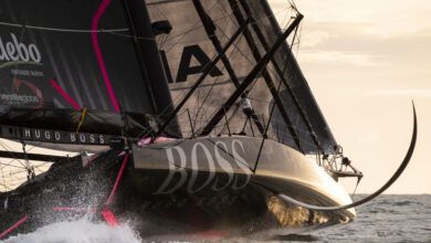 hugo boss vendé globe 2020