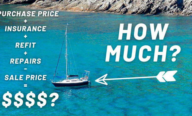 how much does a sailboat cost