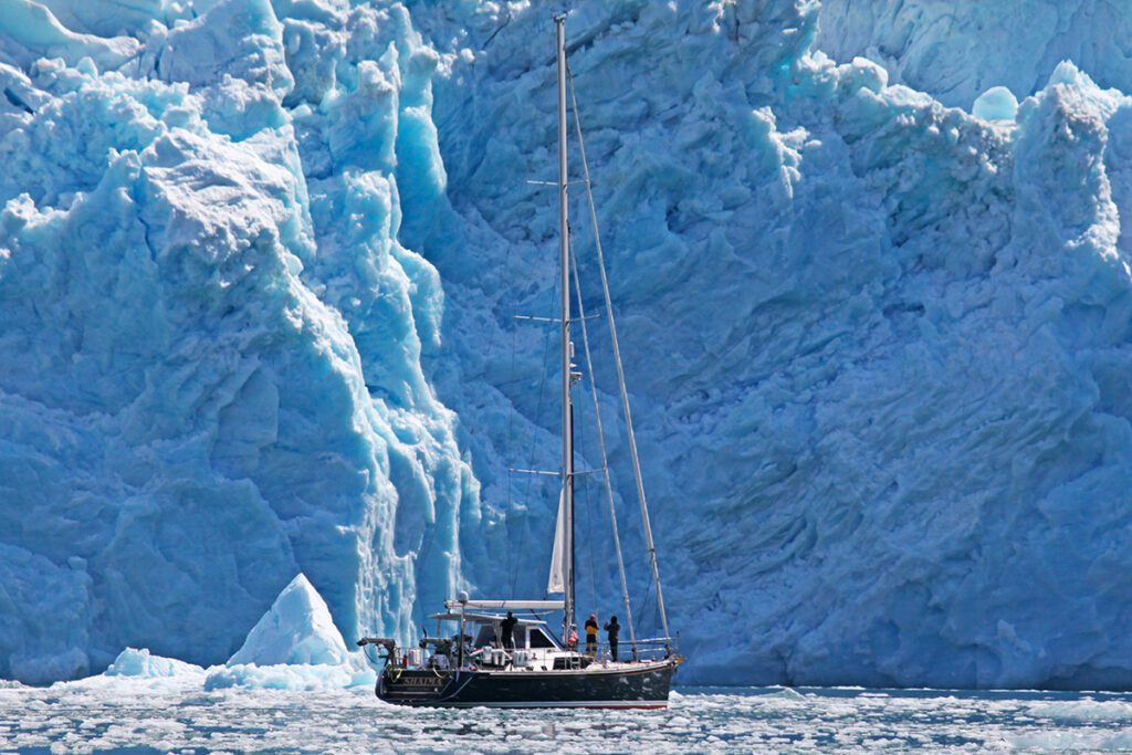 Hylas 63 sailing expedition