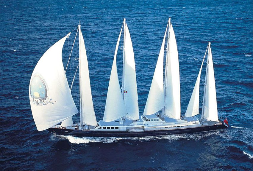 Phocea sailing yacht