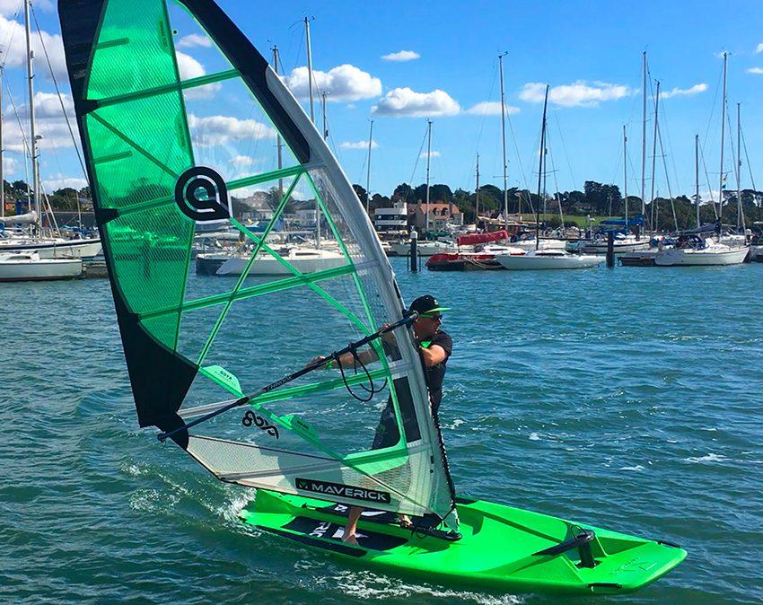 maverick windsurf