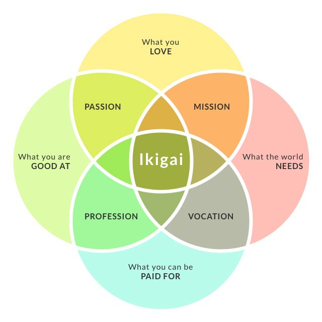 How To Find Your Career Purpose or Ikigai!