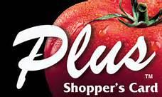 Plus Shoppers Card