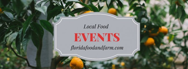 Local Food Events in April