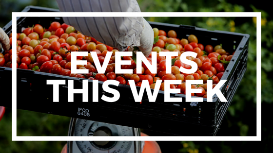 Local Food and Farm Events happening during this week