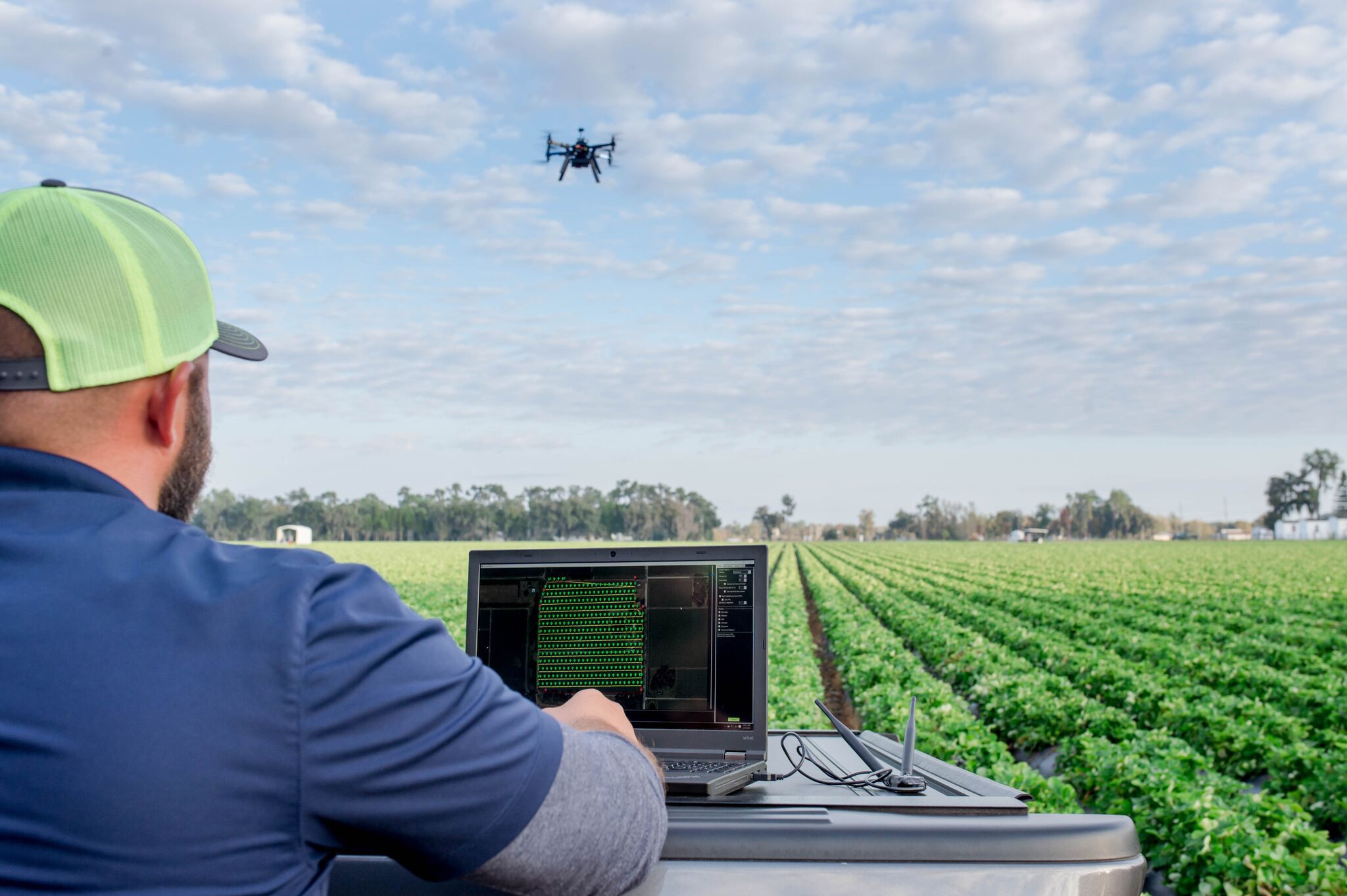 Revolutionary New Farm Implements Take to the Air: Drones