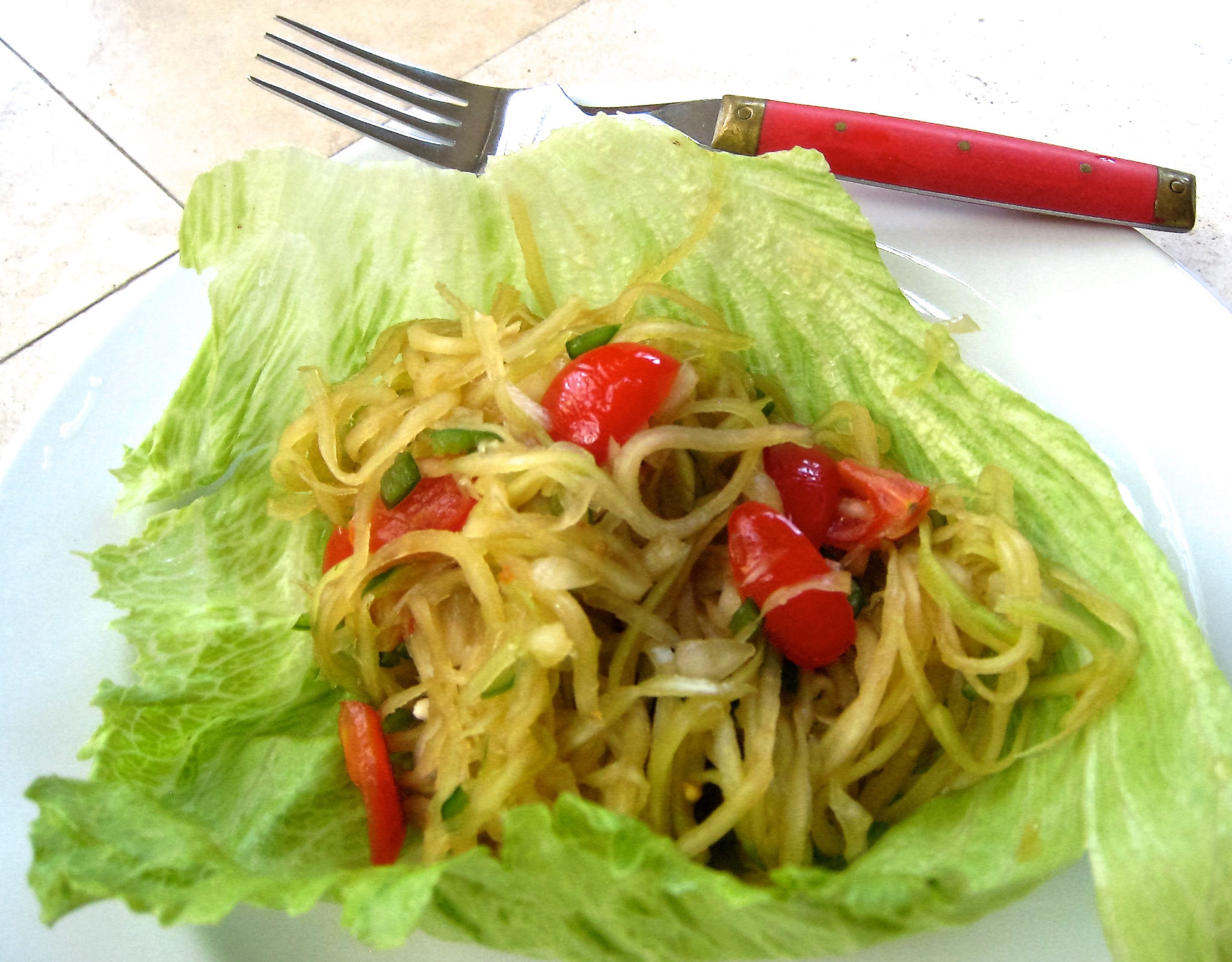 Recipe: Green Papaya Salad