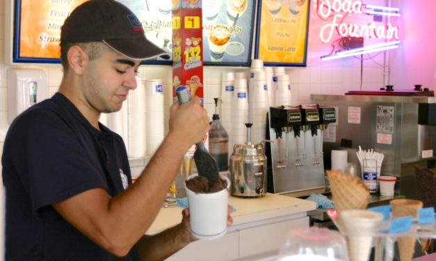Fulfill your cravings at the Ice Cream Club in Manalapan
