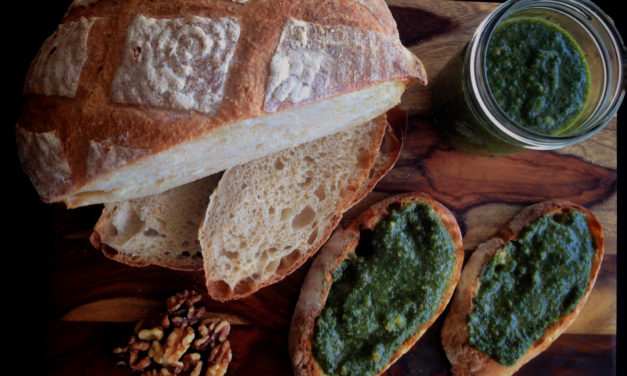 Recipe: Honey, Walnut and Sage Pesto from Aioli