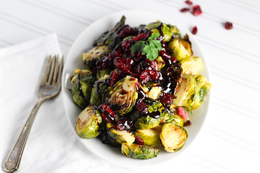 Thanksgiving Sides - Roasted Brussels Sprouts