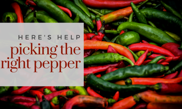 Your guide to peppers, from sweet to spicy