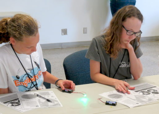 Student in one of the Palm Beach County 4-H Clubs attend 4-H Maker Camp