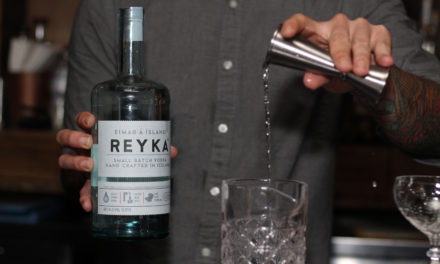 Keith Popejoy Cools you Down with a Reyka Vodka Cocktail