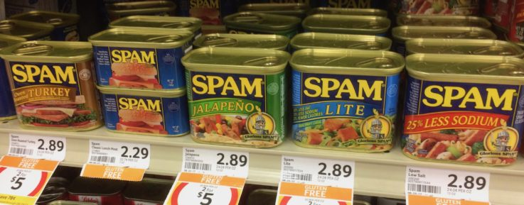 What do you think of Spam