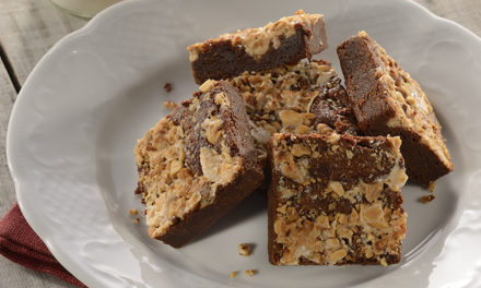 Recipe: Turrón Studded Chilled Chocolate Brownies by Chef Norman Van Aken and a Giveaway