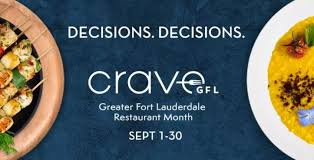 Crave Greater Fort Lauderdale Restaurant Month