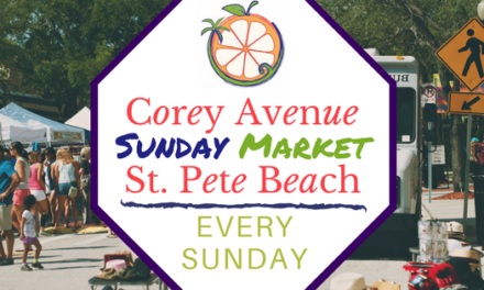 Corey Avenue Sunday Market, St. Pete Beach, opens