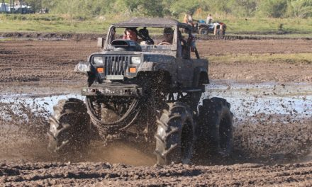 Cow pastures transform into mud bogs, campsites for Trucks Gone Wild