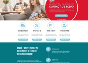 Drans HVAC Website SEO