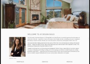 JE Design Website
