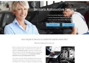 Bernie's Automotive Website