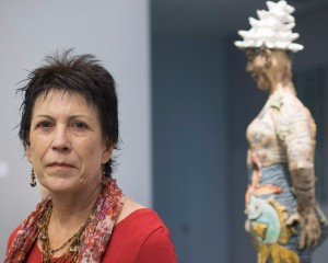 Diane at Boca Raton Museum of Art show
