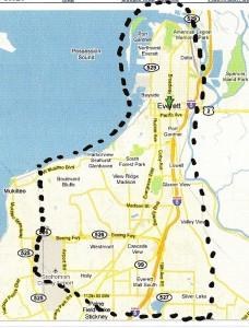 Everett map