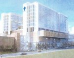 Lighted crosses to be way-finders for Providence Hospital Campus