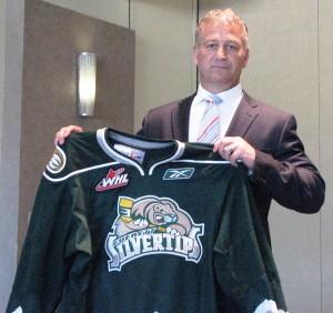 New Silvertips head coach Mark Ferner