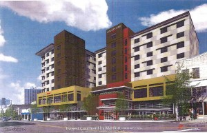 proposed Courtyard by Marriott