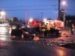 Evergreen Way crash scene