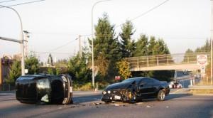 Saturday morning crash at Evergreen and 526